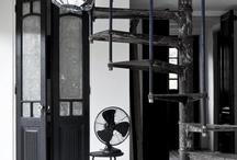 industrial slate grey silver / by Lombard8