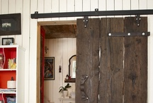Decor: DOORS repurposed / by Donna - Funky Junk Interiors