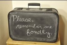 Decor: CHALKBOARDS / by Donna - Funky Junk Interiors