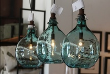 Decor: LIGHTING that's unique / by Donna - Funky Junk Interiors