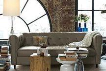 industrial loft interiors / by izabella szuromi