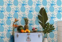 Wild for Wallpaper / Because A Bare Wall is a Sad Wall. / by Laura Morgan