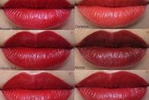 Comparing Colors of Besame Cosmetics / A board of pins to compare the popular Besame lipstick shades. / by Besame Cosmetics Store