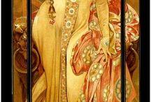 Belle Époque / #jugendstil, #belle Epoque, #art nouveau, #alphons mucha / by Ingo Keil