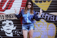 Shady Ladies / Street style & fashion blogger shots of girls who never forget their most important accessory. / by Greet The Sun