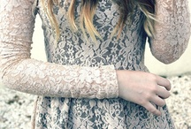 Mesh & Lace / Fashion of the lace & mesh variety. / by Greet The Sun