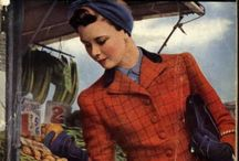 40s~  Now Voyager. 1940s fashion, dress and street styles.  / Dress, streeetstyle & high fashion of the 1940s.  / by Velocity Girl.