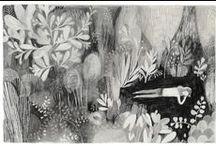 illustrations / by Cécile L.