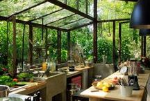 Beautiful Kitchen Designs / beautiful kitchen designs kitchen designs dream kitchen / by Veggie Goddess