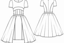 Desenho Técnico de Vestuário e referências / by Ricardo Albuquerque