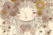 ilustras / by Isabela Midori Shibutani