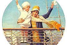 ENFANTS (Jessie Willcox Smith) / Collection:Illustrations de Jessie Willcox Smith / by Liane DENTELLES DE PAPIER