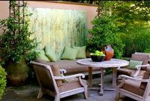 Oudoor Living / An outdoor living room for your home is a great place to stay whenever you want to breathe fresh air and you want to get a glimpse of nature. It can also be the perfect place to entertain your guests without disturbing people inside the house. Pin all your favourite tips on how to design an outdoor living room ~ Please stick to this topic, off-topic pins will be deleted and you will be BLOCKED! Please feel free to invite friends/followers to this group board ~ Happy Pinning!  / by Amanda Torres-Maraj