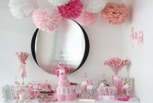 Party table ideas // buffet, candy or dessert bar ect.  / by Linda Gormsen