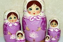 ♥ Matryoshka Dolls ♥ / by Cathy Nickols