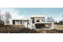 DOMY / houses / Realizacje, projekty, inspiracje / inspirations  / by Homebook.pl