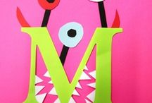 Letter M / Crafts, books, math and more for letter M - collected by a former teacher and mom of four little ones / by The Measured Mom