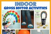 Large Motor for Kids / Need the kids to burn off some energy?  Check these ideas out! / by The Measured Mom