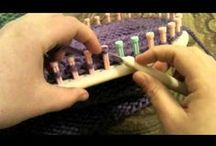knit loom video BIS / knitting loom video only  (+ other board, tricotin/ knitting loom) / by a m