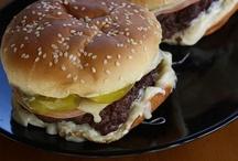 A burger a day keeps the growling away / by Doris Valdespino