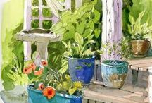 Garden: Garden ideas and suggestions. / by Cecilia Bowerman