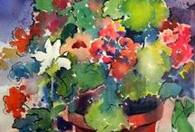 Garden:  Flowers and flower arrangements. / by Cecilia Bowerman