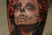 Day Of The Dead Girl / by Tony Spangler