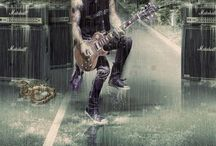 Guitar heros / Legends of the guitar who rock / by Jantje Young
