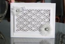 The Heritage Collection / The much anticipated Heritage Collection is a unique set of 6 dies all designed to highlight the lace and detail elements of Tattered Lace. Use on their own or with accent dies and use greetings in the centre to create sophisticated and commercial greeting cards.Join Nancy Watt on Friday 22nd August at 12pm on Create & Craft TV. / by Tattered Lace Dies