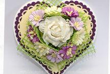 Beautiful Flowers cards / by Vira Lagoda