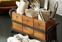 Dining room organised / by Declutterhome