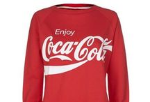 Coca Cola Clothing / Clothing for Coca Cola / by Lena Tibballs