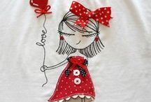 YARN & FABRIC Embroidery/Applique / by karen campbell