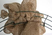 Burlap Wreaths / by Patsy Prescott