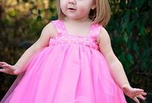 Littlt Girl Fashion / Clothes, Tutus, shoes,Jewelry and hair / by Patsy Prescott