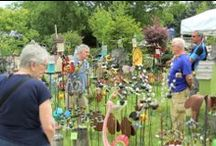 Garden Fair / Garden Fair is the first week of June every year. It is our most popular event with attendance reaching 5,000 over the three day event.  Klehm Arboretum  in Rockford, IL / by Klehm Arboretum & Botanic Garden