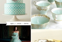 Wedding Colour Palettes / by Sienna Brulee