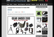Great DSLR Video Blogs / Websites we found helpful for DSLR shooters and filmmakers. / by DSLR Video Shooter