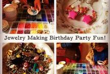 Jewelry Parties & Fun! / Pinning all of the types of parties you can choose from, from tiny gatherings to nights in with the girls, to bead-marathon extravaganzas!  / by Dragonfly Designs