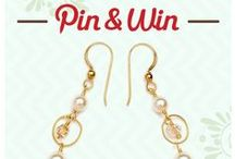 Dragonfly Pin a Jewel & Win / Here's an example from us on how you can win away a special pair of Swarovski crystal & pearl earrings every week! Happy Pinning #PinAJewel #DflyDesigns  / by Dragonfly Designs
