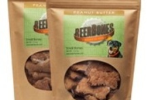"""Beer-Bones / USA made dog treat from recycled beer grain!  Go ahead, """"share"""" a beer with your best friend! / by Monique Fekin Wilcox"""