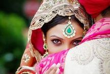 Indian Dulhand and Pakistani Desi weddings / by Mette Stensås
