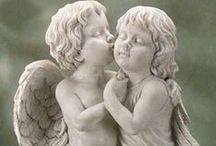 """Art Cherubs/Angels / Seperate board for """"Let's party gift wrapping""""  / by Gini Paton"""