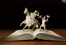 Art of Books/Book Ends / by Gini Paton