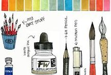 Art Tips Drawing Painting / by Gini Paton
