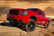 GMC / One of the true powerhouses of the auto and truck world with brands like Chevy, Cadillac and GMC. View the best GM models and see their true potential. / by ReadyLIFT Suspension