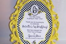 Bee Birthday Party / Brielle is turning 1 so let celebrate her 1st birthday. / by Vickie List