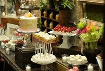 Catering: Food display and buffet Tablescapes / by Jana Humleker