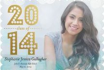 Senior Graduation Announcements/Card Templates / Great templates that are available to purchase. / by DigiClix Photography