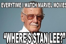 MARVELous / Marvel has Stan Lee. Enough said. :) (And Loki) / by Kate The Batgirl